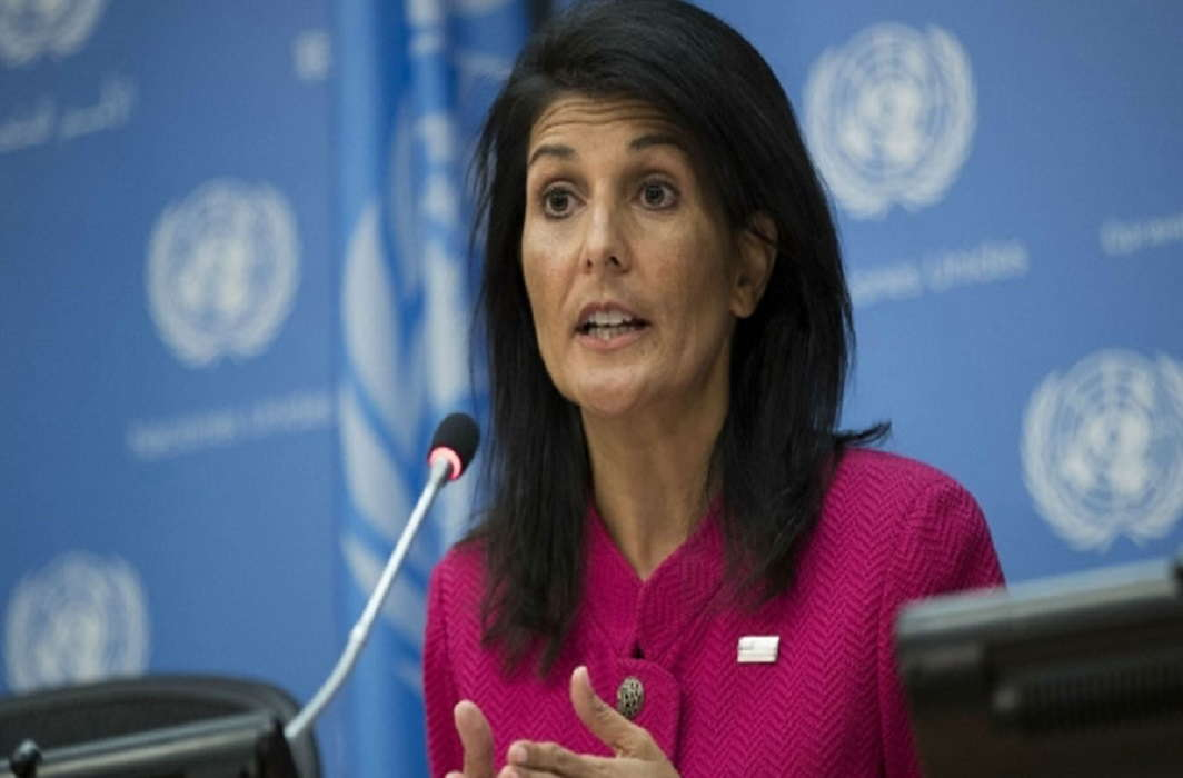 Nikki Haley resigns and Will leave At the end of the year