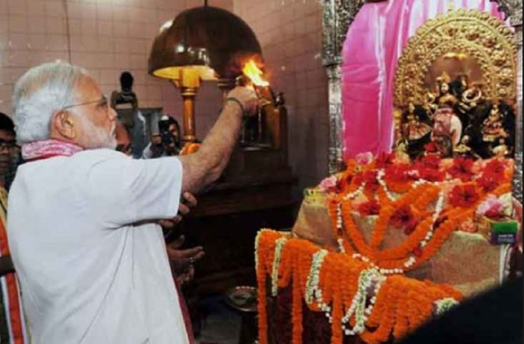 Prime Minister Narendra Modi has keeps Navratri Vrat with drinking water.
