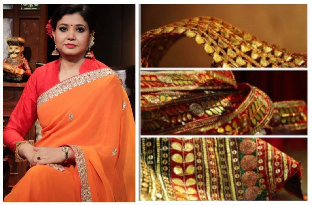 Rajasthan's Gota Patti Sarees