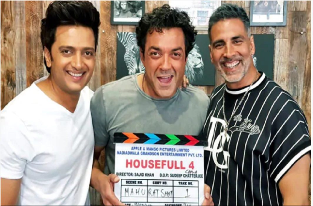 Akshay Kumar has supported to #MeToo and shooting of Housefull 4 is canceled
