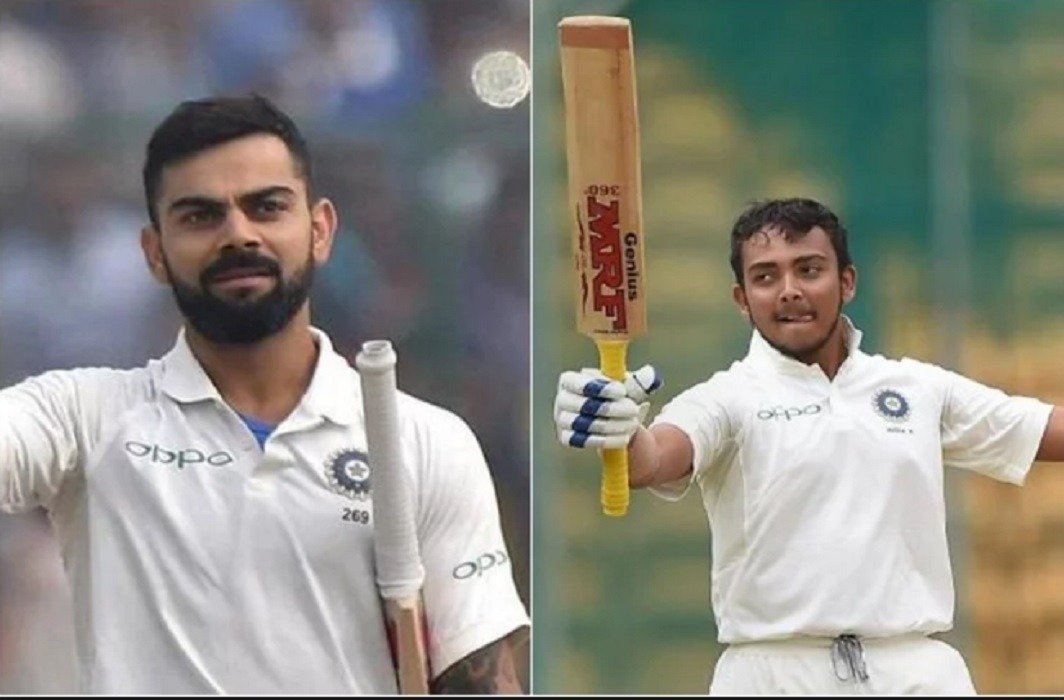 Virat Kohli praises Prithvi Shaw and says none of us was 10 percent