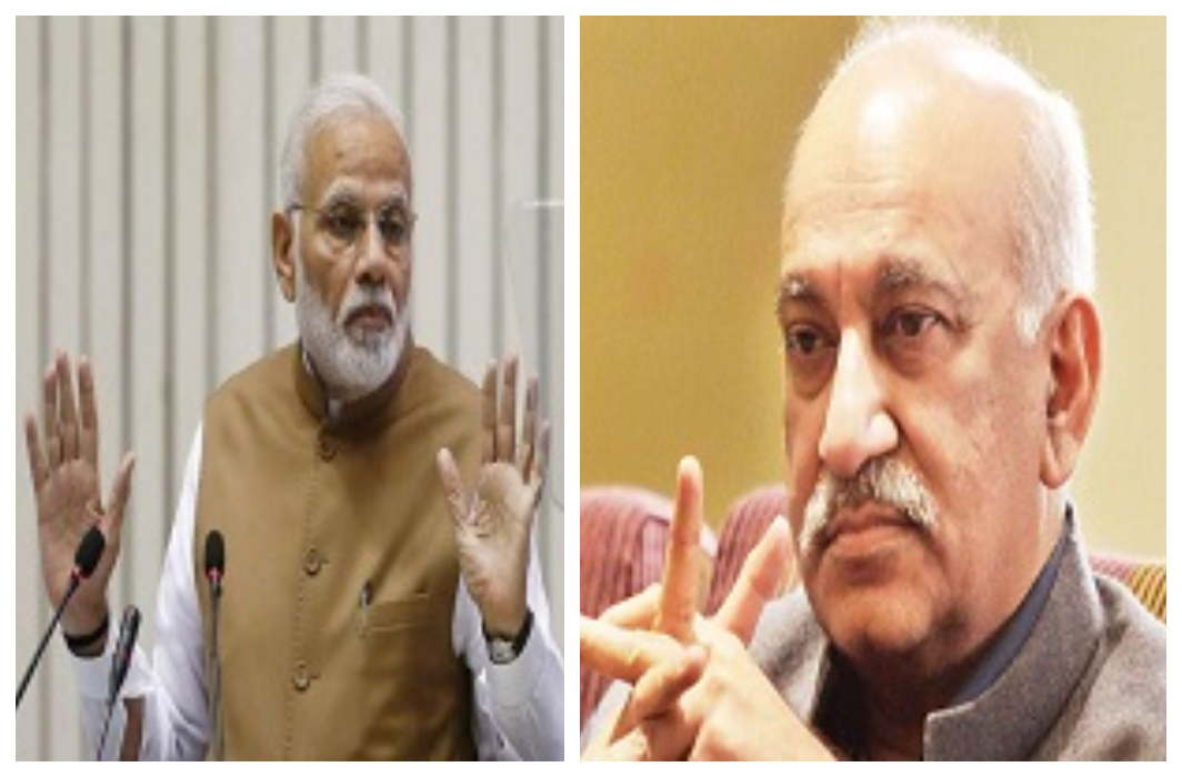 Union Minister MJ Akbar resigns on PM Modi's request in #MeToo