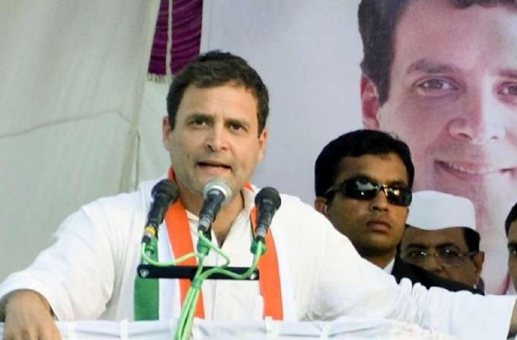 Rahul Gandhi said PM Modi and CM Rao did not complete their manifesto