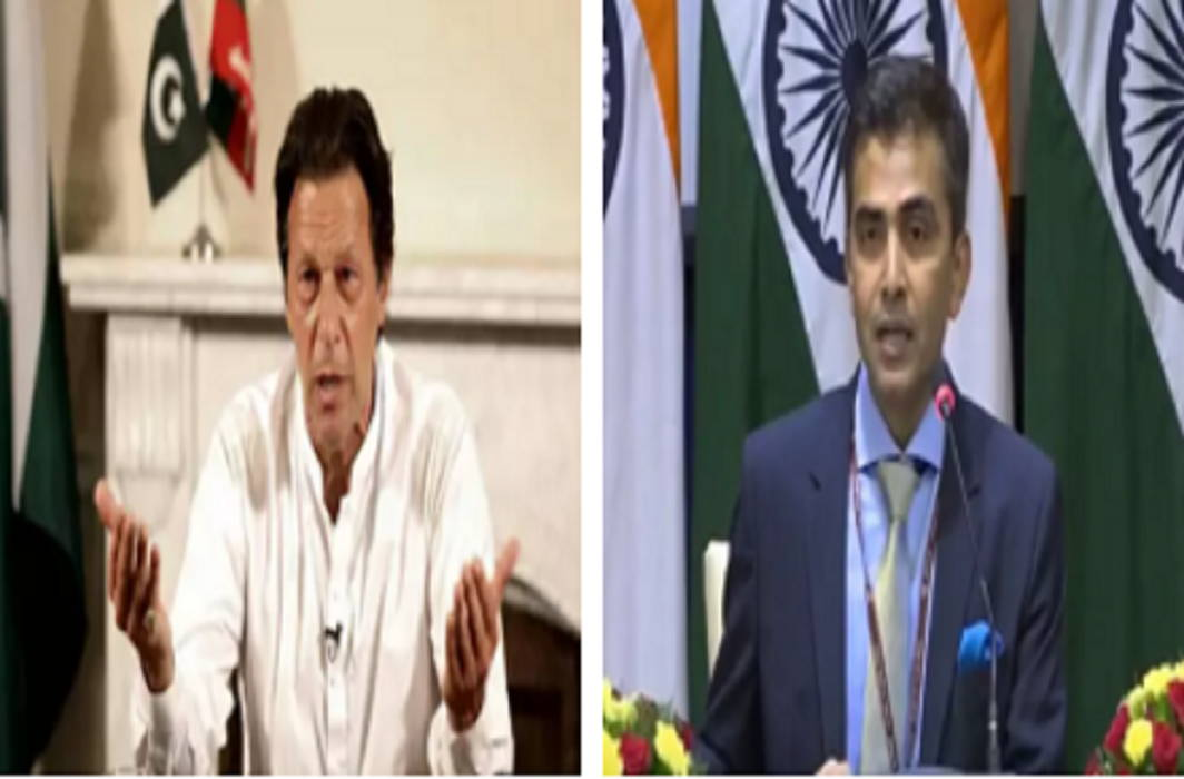 Imran tweeted on Kashmir, India's strong response to Pakistan-take over your country