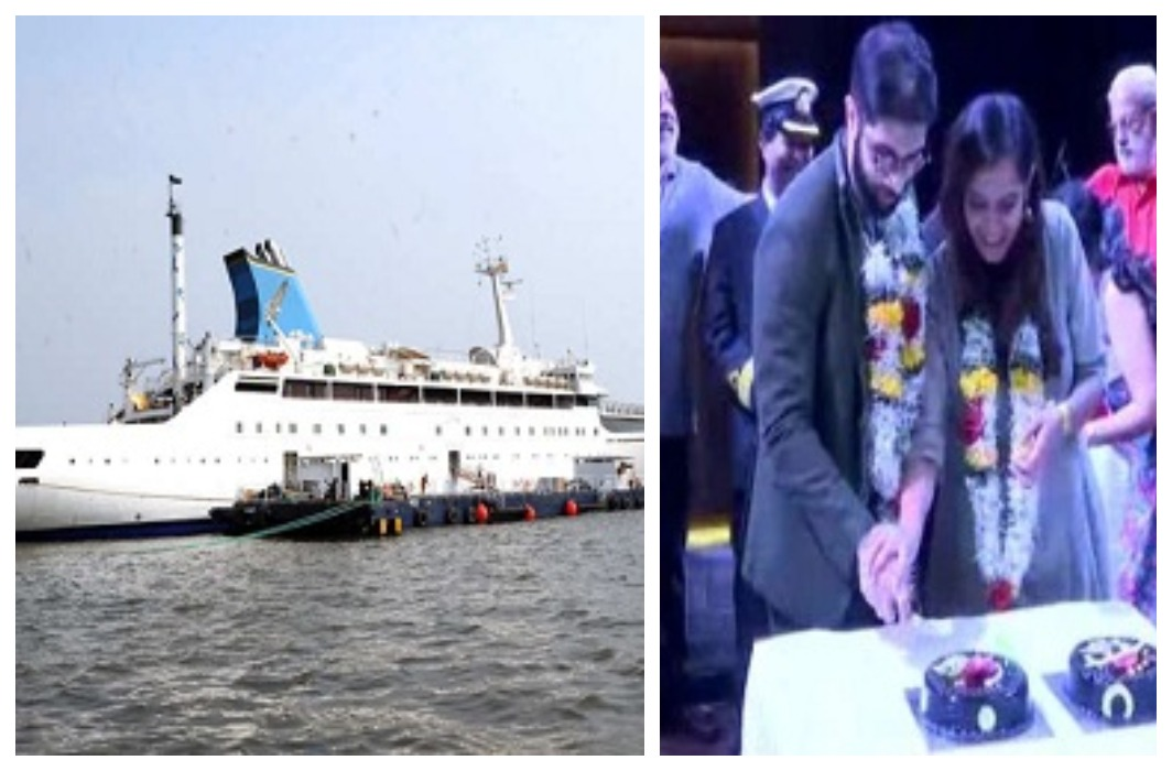 India's first luxury cruise ship has started from Mumbai to Goa