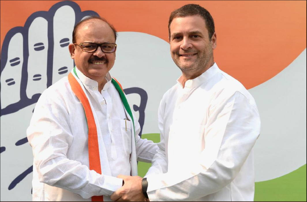 Tariq Anwar's return home and joins the congress In the presence of Rahul Gandhi