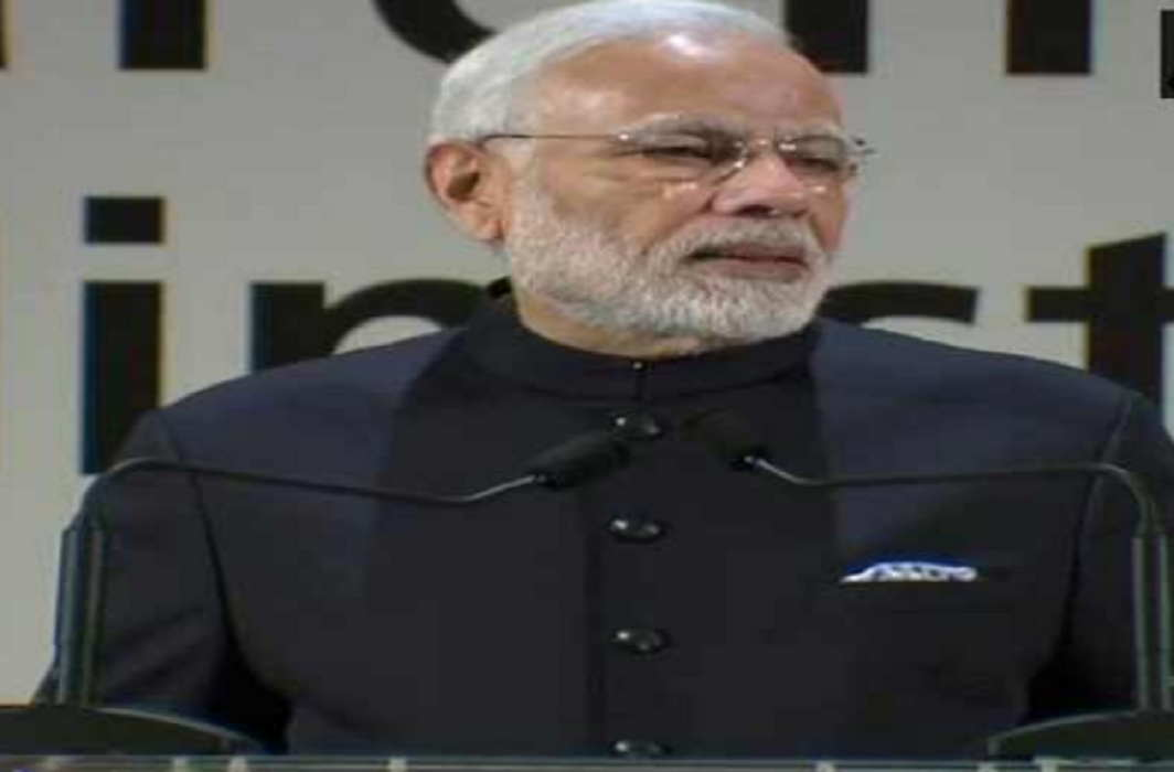 PM Modi said India is giving solutions to problems of the world