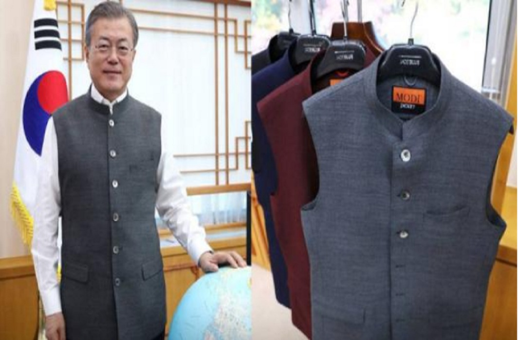 PM Narendra Modi has gifts 'Modi jackets' to South Korean President Moon