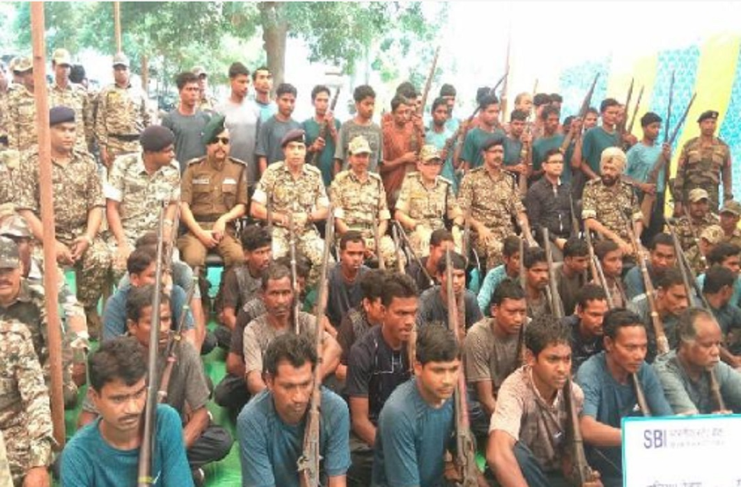 Naxalites surrender in Chhattisgarh