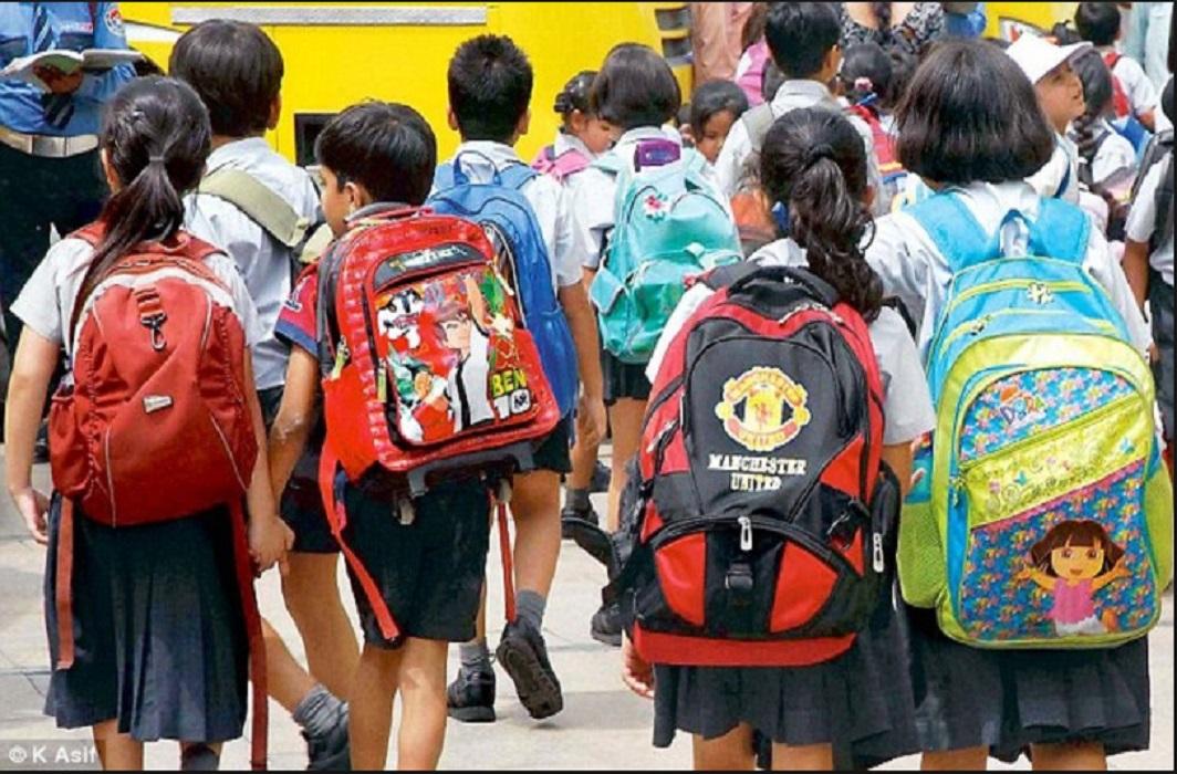 Children will get relief from heavy school bags