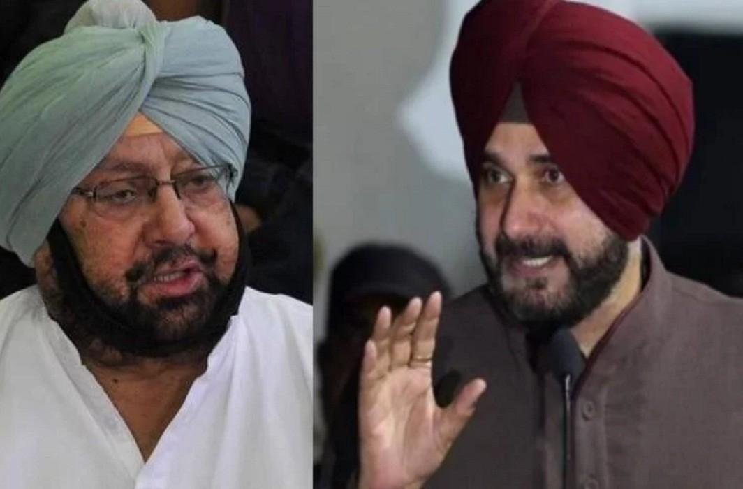 Punjab CM Amarinder Singh & Navjot Singh Sidhu