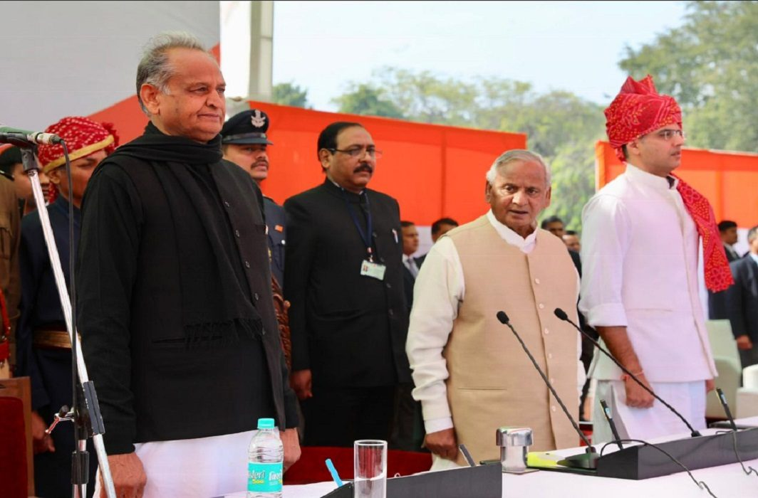 Rajasthan CM oath ceremony