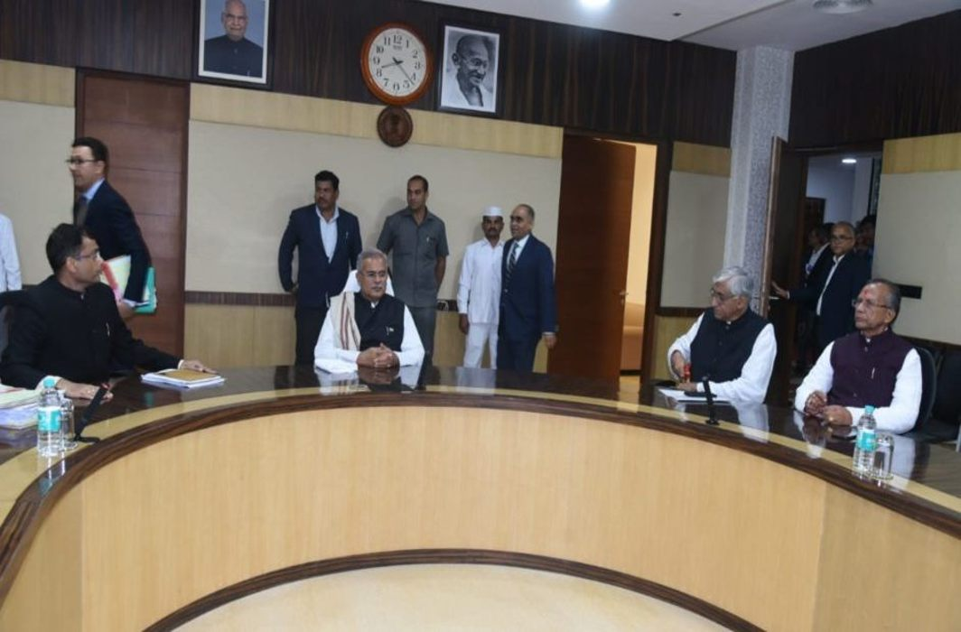 Chhattisgarh Cabinet Meeting