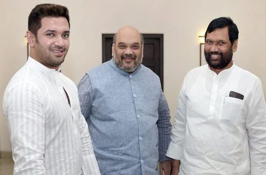 Paswan meets Shah