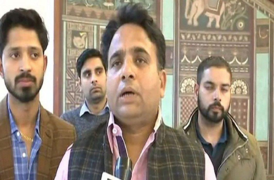 BJP MLA Sanjay Sharma