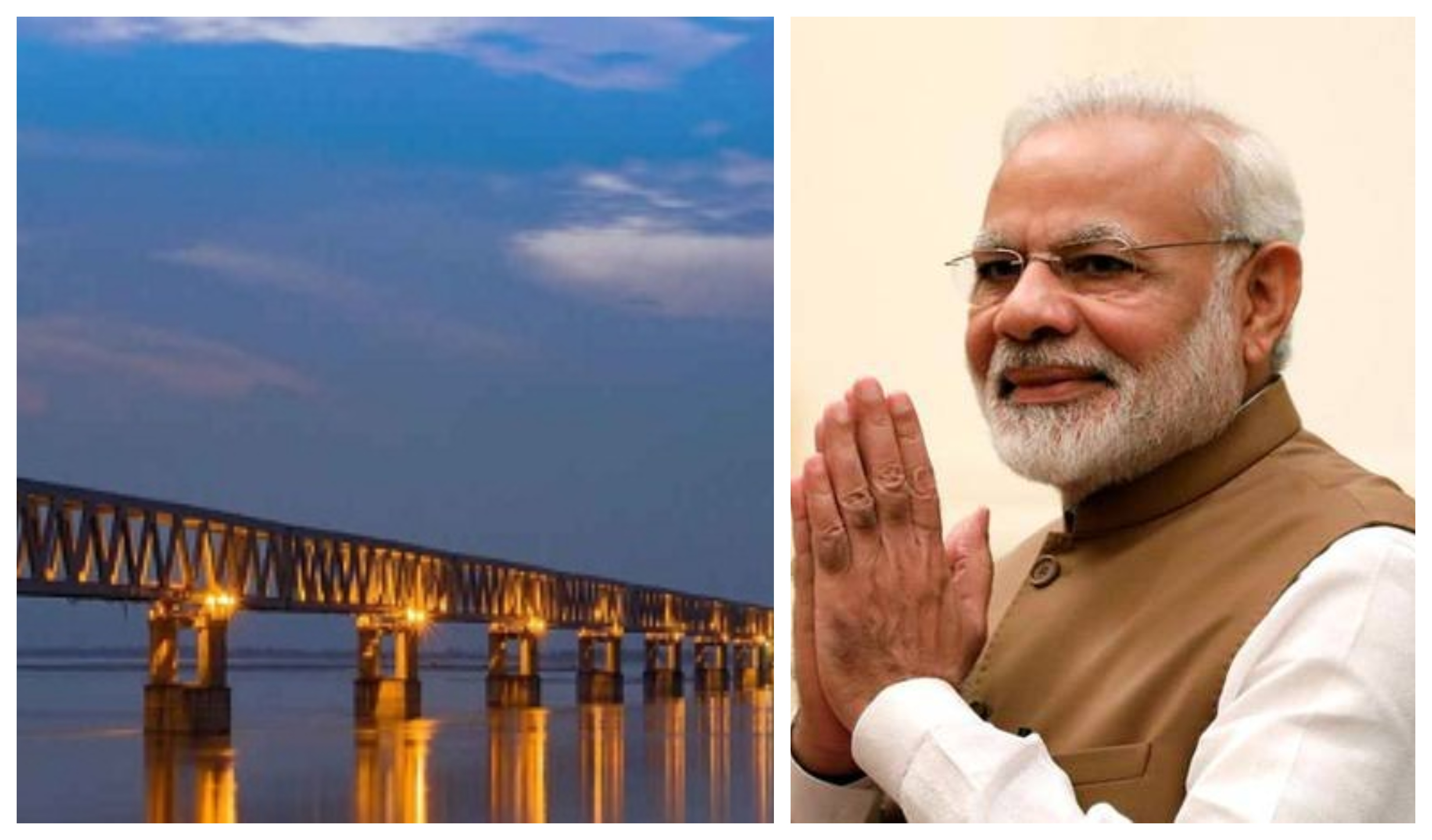 Prime Minister Narendra Modi to inaugurate the country's longest railroad bridge