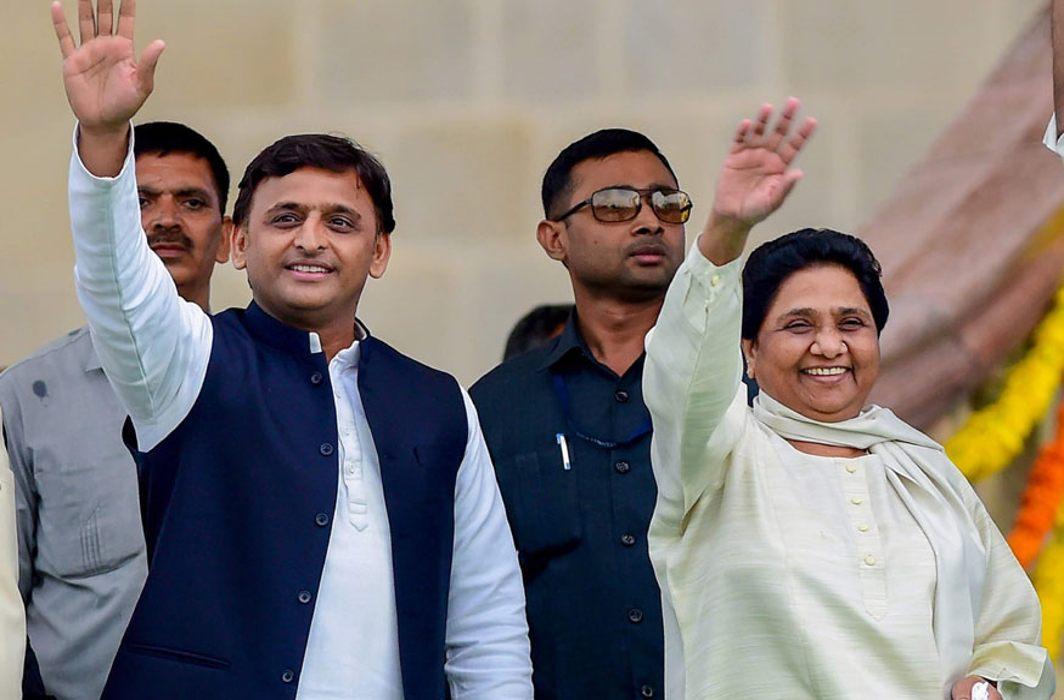 Akhilesh Yadav & Mayawati