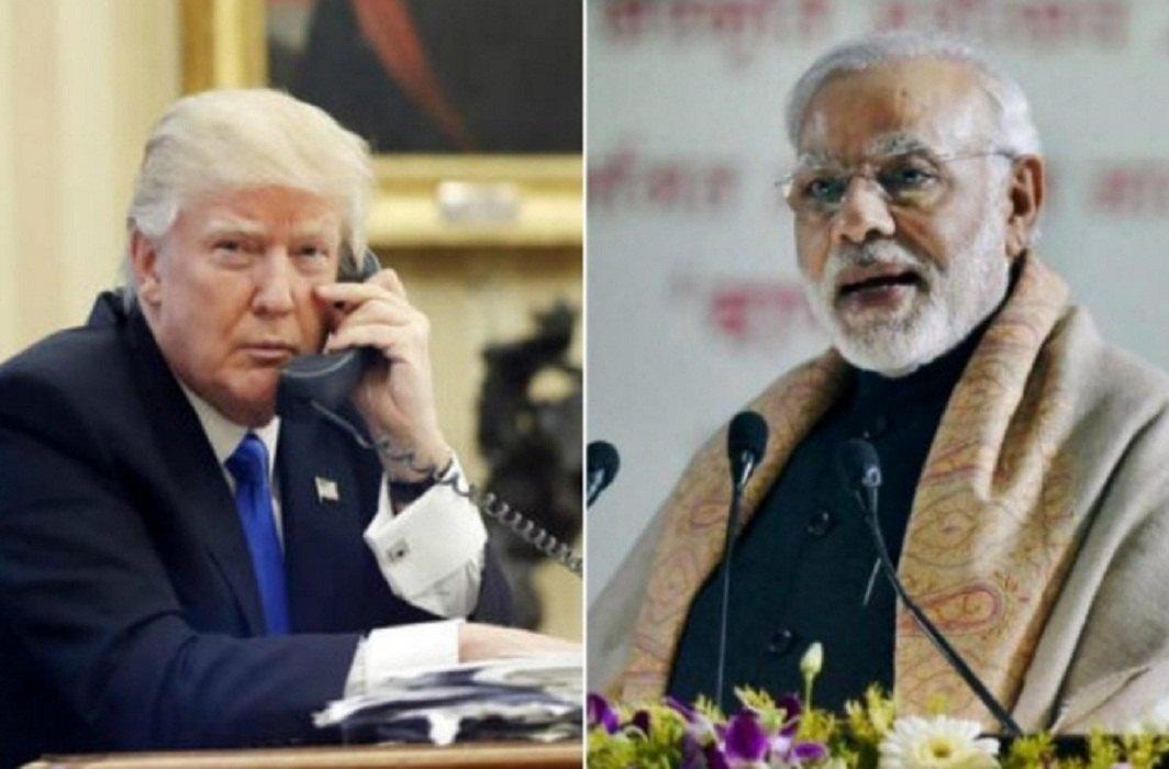 Donald Trump & Narendra Modi