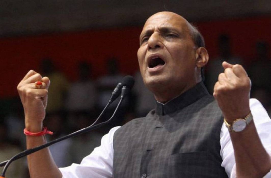 Rajnath expresses concern over conversion, Mass conversion should stop