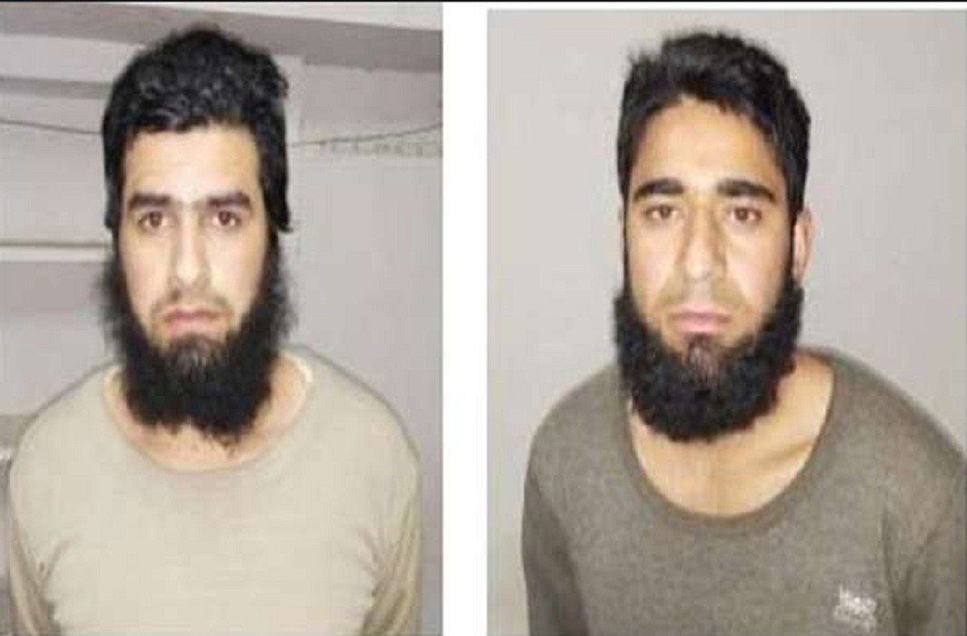 arrest two suspected kashmiri