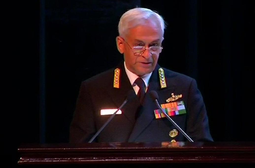 Naval Chief Sunil Lanba