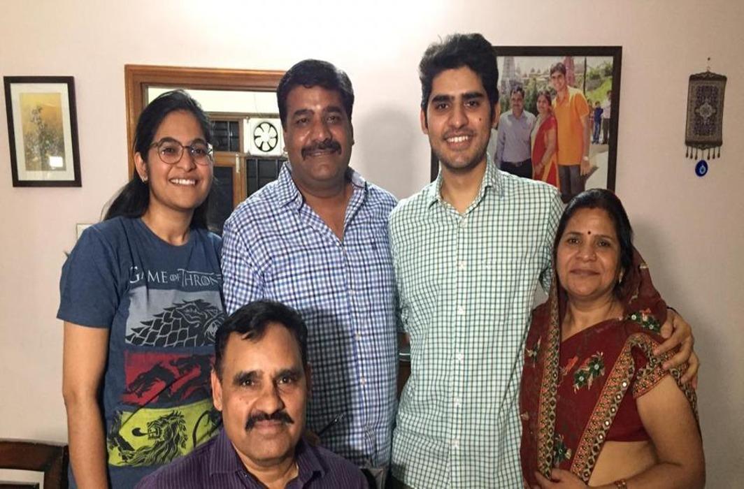 Kanishak Kataria Family