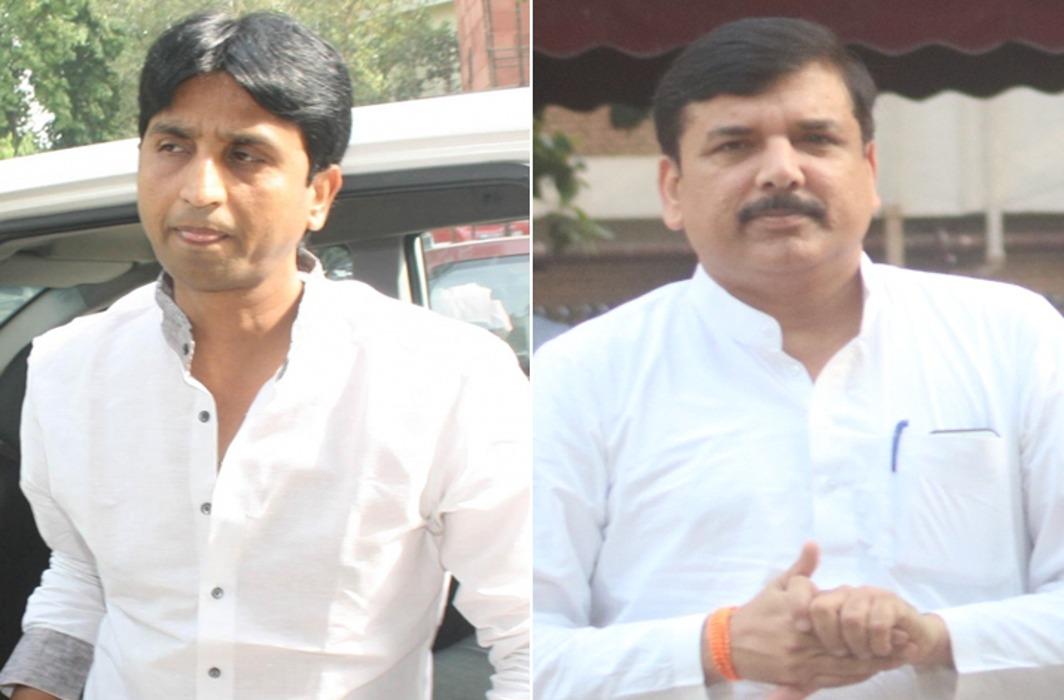 Kumar Vishwas & Sanjay Singh