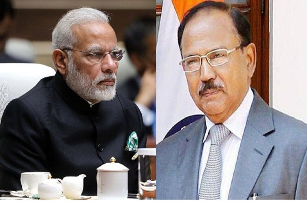 Narendra Modi & Ajit doval