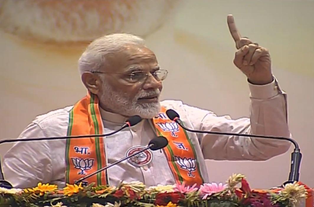 Narendra Modi in Varanasi