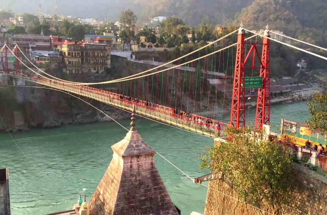Lakshman Jhula bridge closed
