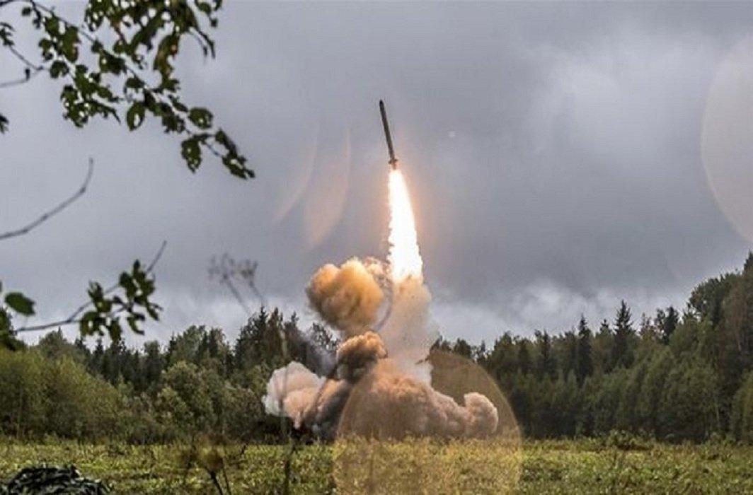 blast during rocket test in Russia