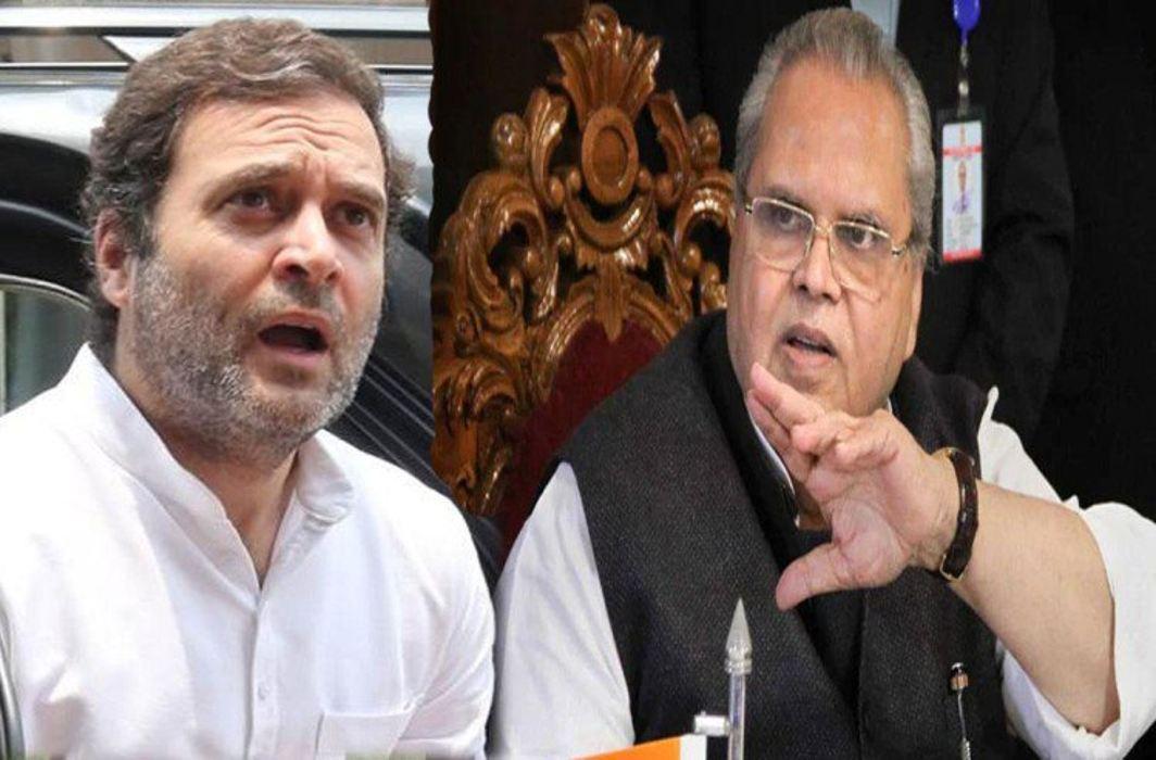 Rahul Gandhi & Satypal Malik