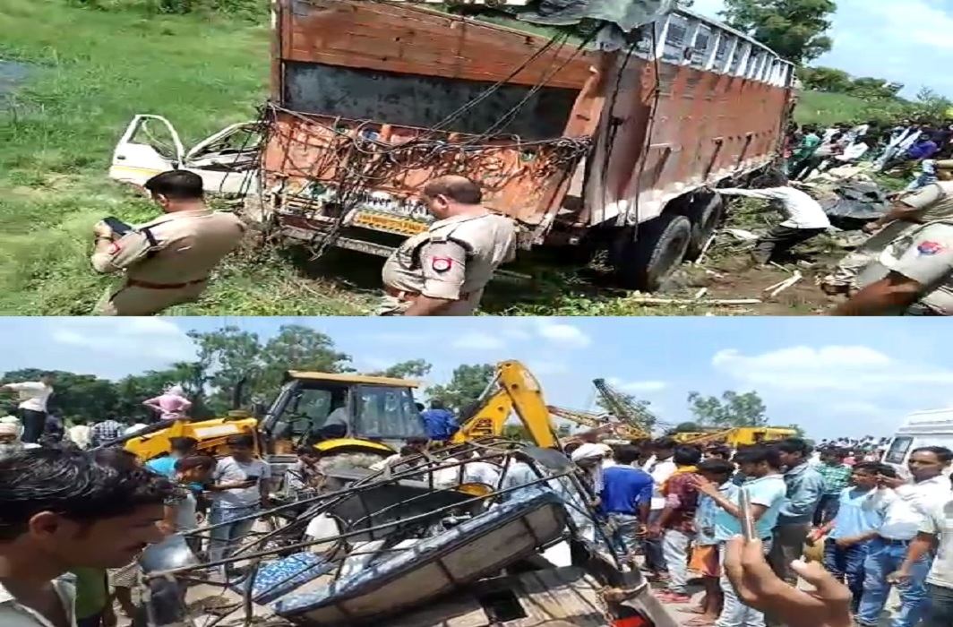 Accident in UP