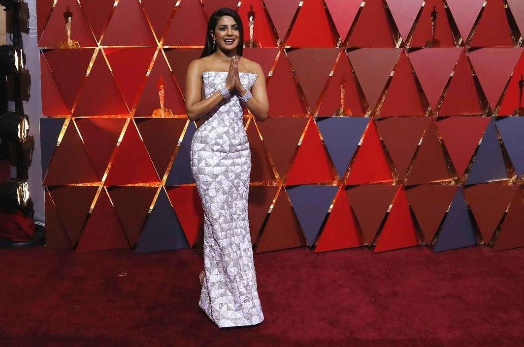 Desi girl Priyanka Chopra turned heads with her choice of couture