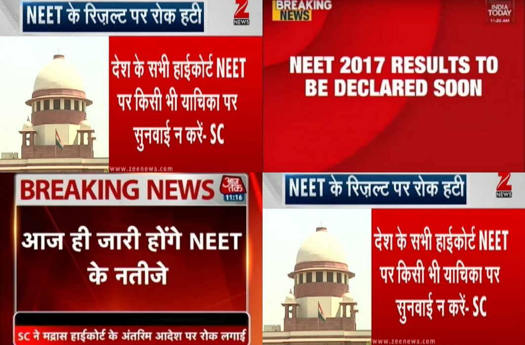 SC order on NEET takes top slot
