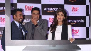 Shilpa Shetty Kundra at an Amazon event