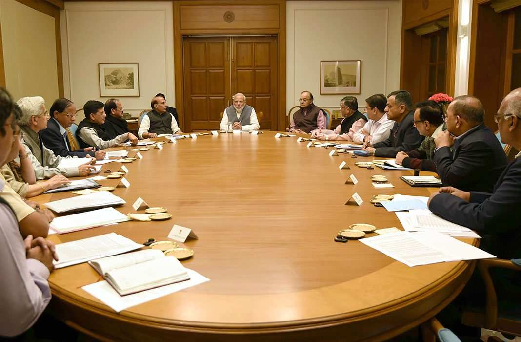 Cabinet Meeting with PM Modi