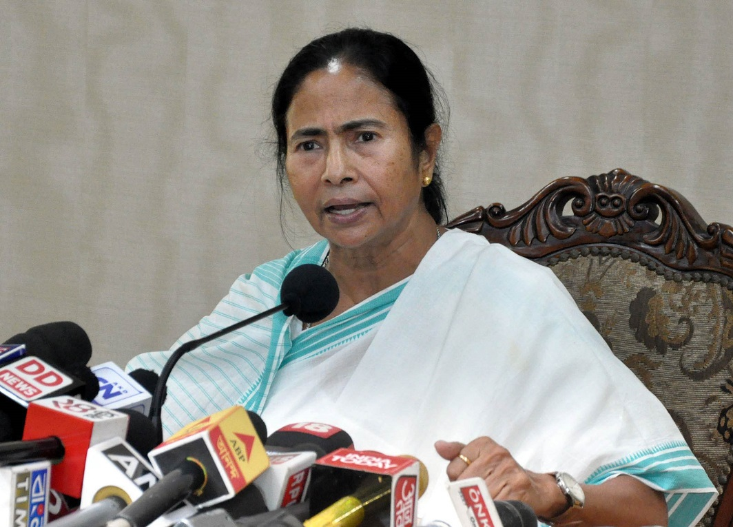 With large parts of West Bengal waiting to explode, CM Mamata Banerjee has much to worry about. Photo: UNI
