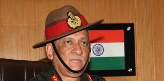 Chief of Army Chief designate Lt General Bipin Rawat. Photo: UNI