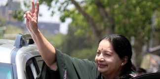 Jayalalithaa was the first chief minister against whom the governor granted sanction for prosecution while in office in a corruption case. Photo: UNI