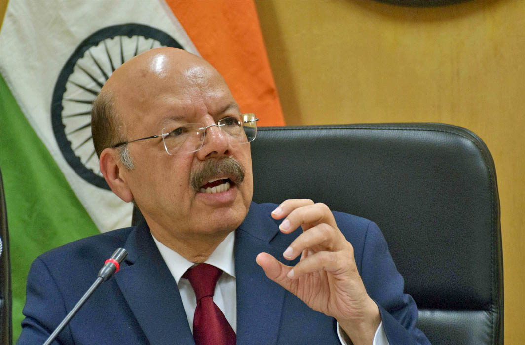 Election Commissioner Nasim Zaidi. Photo; UNI