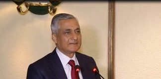 Former CJI TS Thakur speaking at his farewell function. Photo: APN News
