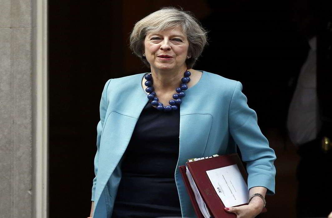 UK Prime Minister Theresa May. Photo: UNI
