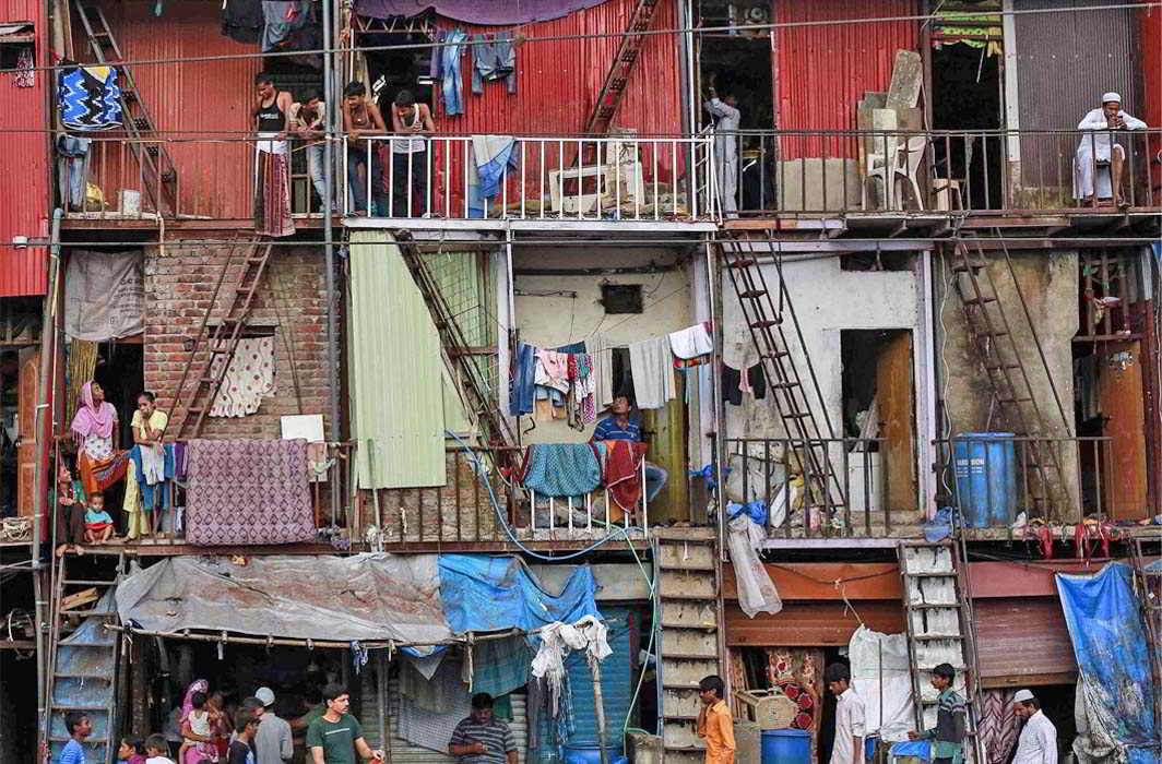 Organised housing for the poor is still a far cry in most towns and cities. Photo: UNI
