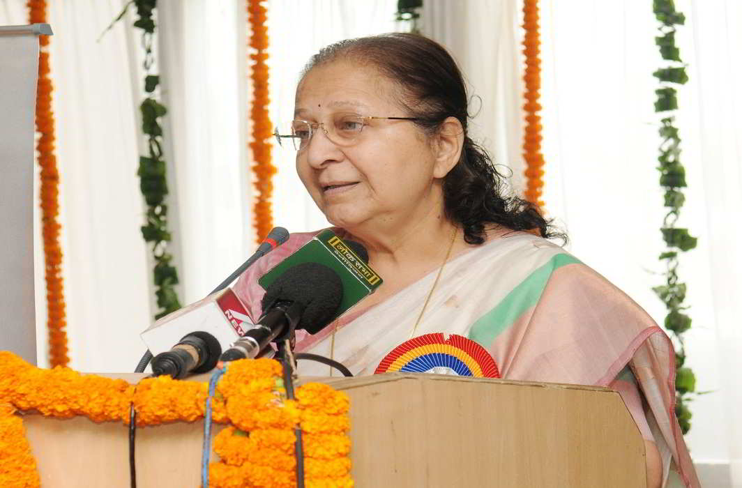 Lok Sabha Speaker Sumitra Mahajan. Photo: PIB