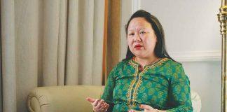 Dangwimsai Pul, the widow of the late chief minister of Arunachal Pradesh, Kalikho Pul. Photo: Anil Shakya