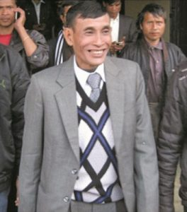 MLA Julius Dorphang, who is now in judicial custody