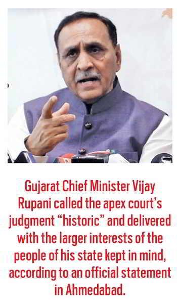 Gujrat Chief Minister Vijay Rupani