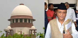 (L-R) Supreme Court (Anil Shakya) and Azam Khan (UNI)