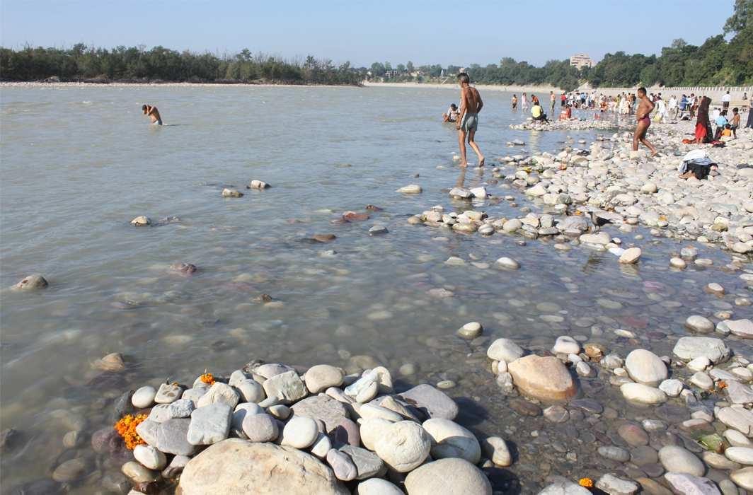 The Ganga. Photo: UNI